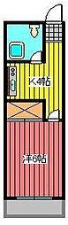 第五田丸マンション[2階]の間取り
