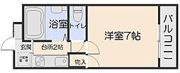 第6野地ビル[4階]の間取り