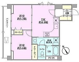 つるまきハウス(フルリノベーション)[401号室号室]の間取り