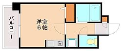 ロイヤルコート大橋II[3階]の間取り
