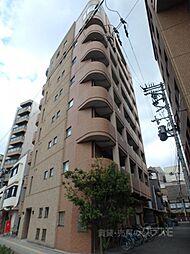 大阪府大阪市阿倍野区文の里1の賃貸マンションの外観