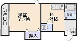 PASTORALE[2階]の間取り