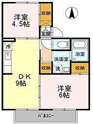 メゾン丹和 A棟[1階]の間取り