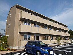岡山県倉敷市児島稗田町の賃貸アパートの外観