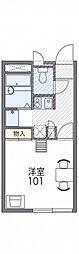 レオパレスASAHI[2階]の間取り