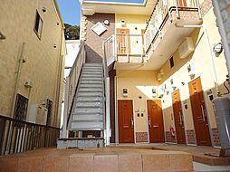 神奈川県横浜市保土ケ谷区岩崎町の賃貸アパートの外観