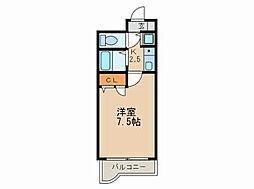 ライオンズマンション南福岡中央[2階]の間取り