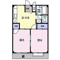 エルディム5-3[1階]の間取り