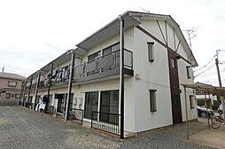 埼玉県越谷市大字大房の賃貸アパートの外観