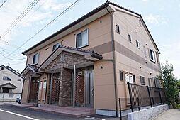 群馬県高崎市棟高町の賃貸アパートの外観