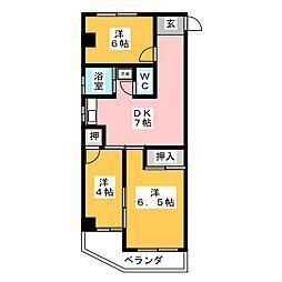 富善ビル[4階]の間取り