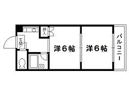 ロイヤルコーポ大同[3階]の間取り