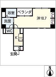 Arrows[4階]の間取り
