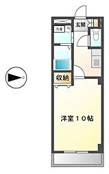 本州ビルIII[1階]の間取り