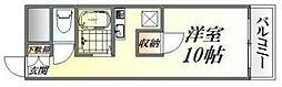 川本マンション[205号室号室]の間取り