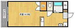 ハミルトン21[2階]の間取り
