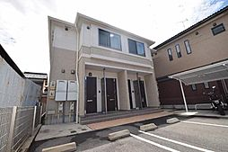 愛知県名古屋市中川区下之一色町字権野の賃貸アパートの外観