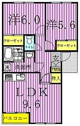 コンフォースIII[1階]の間取り