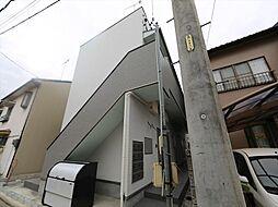愛知県名古屋市中村区白子町1丁目の賃貸アパートの外観