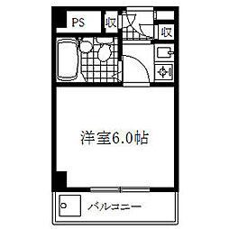 フィールドシティ新栄第3[8階]の間取り