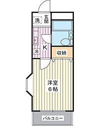 エスプラネード[4階]の間取り