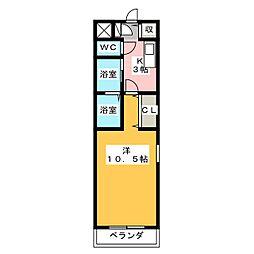 つつみ館[2階]の間取り