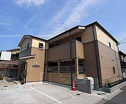 京都府京都市北区等持院東町の賃貸アパートの外観