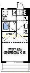 NAKAHA LIFE[2階]の間取り