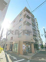 東京都大田区山王2丁目の賃貸マンションの外観