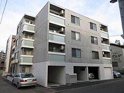 北海道札幌市豊平区美園九条7丁目の賃貸マンションの外観