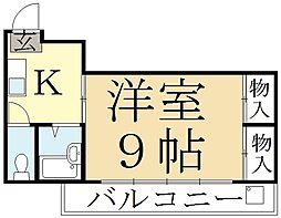 パレモデリア[3階]の間取り