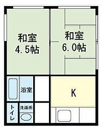 [一戸建] 静岡県裾野市御宿 の賃貸【/】の間取り