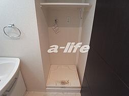 アドバンス三宮ウィングロードの室内洗濯機置場