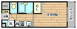FLAT S・M・P[2階]の間取り