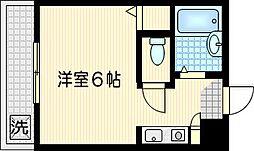 ファインズコート渡田[2階]の間取り