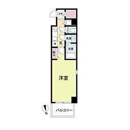 La Douceur心斎橋(旧 COMODA CASA)[1004号室]の間取り