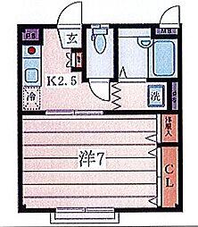 ブランドール[301号室]の間取り