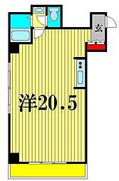 東壱番館 502[5階]の間取り