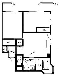 久五ビル[3階]の間取り