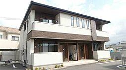 和歌山県岩出市野上野の賃貸アパートの外観
