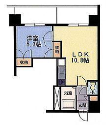 エンドレス519[5階]の間取り