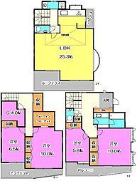 [一戸建] 東京都練馬区東大泉6丁目 の賃貸【/】の間取り