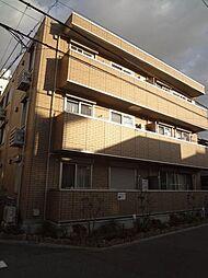 大阪府大阪市東住吉区針中野2丁目の賃貸マンションの外観