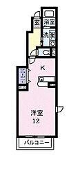カ−ム コ−ト[0101号室]の間取り