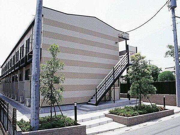 埼玉県さいたま市見沼区丸ヶ崎の賃貸アパートの外観