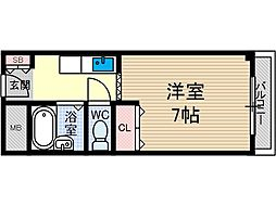 オーク135[2階]の間取り