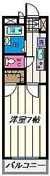 埼玉県さいたま市南区別所1丁目の賃貸マンションの間取り