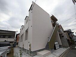 愛知県名古屋市熱田区三番町の賃貸アパートの外観
