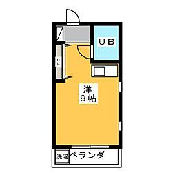 FUWA HOUSE[4階]の間取り
