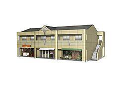 東保木間新築店舗アパート[201号室]の外観